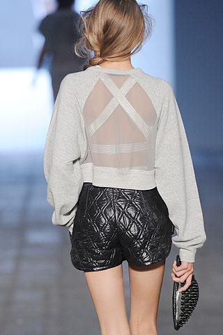 too cute quilted leather shorts