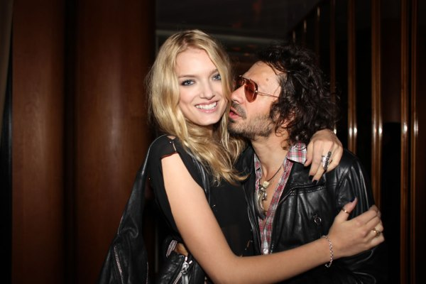 Lily Donaldson and Olivier Zahm