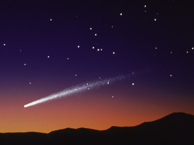 shooting star beautiful night - photo #19