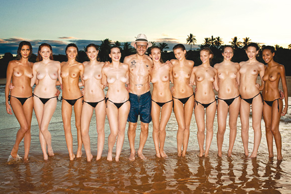 2010 Pirelli Calendar - Terry Richardson nude models fashion