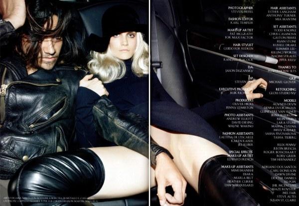 Vogue Italia July 2007 Steven Meisel