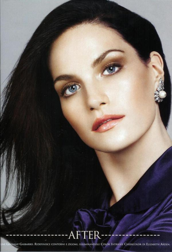 Missy Rayder Vogue Italia July 2005 Makeover madness by Steven Meisel Edward Enninful Pat McGrath