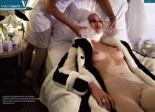 Vogue Italia July 2005 Makeover madness by Steven Meisel Edward Enninful Pat McGrath