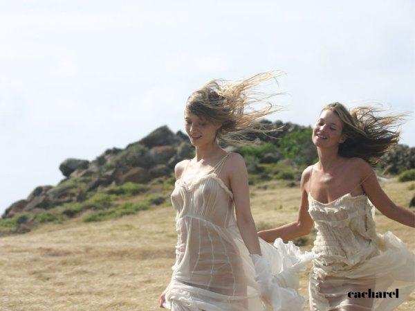 Anais Anais Cacharel Kate Moss and Inga Serbent photographed by David Sims