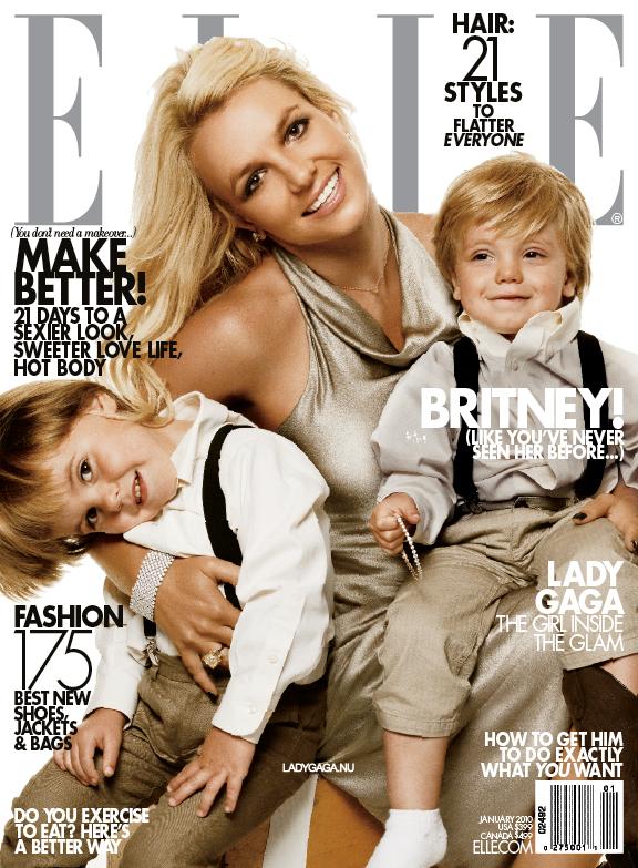 Britney Spears US Elle January 2010