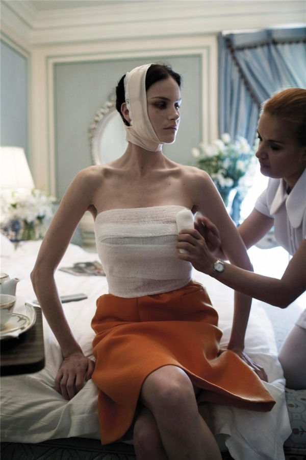 Vogue Italia July 2005 Makeover madness by Steven Meisel Missy Rayder Edward Enninful Pat McGarth