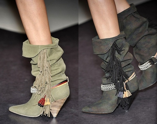 Isabel Marant boots for ladies