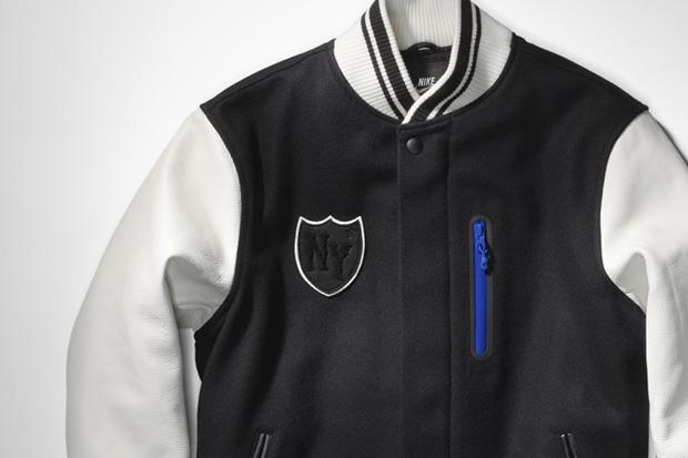 Daily crave: Nike Sportswear NYC Destroyer Varsity Jacket ...