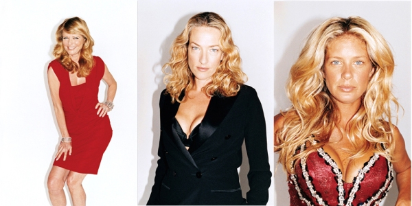 Cheryl Tiegs, Tatjana Patitz and Rachel Hunter pictures photographed by Juergen Teller