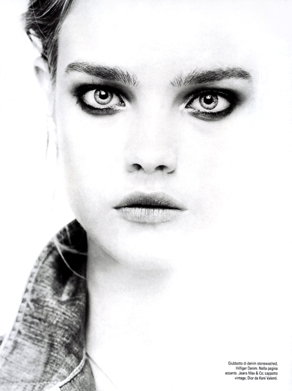 Natalia Vodianova pictures photograph by Steven Meisel Vogue Italy May 2005