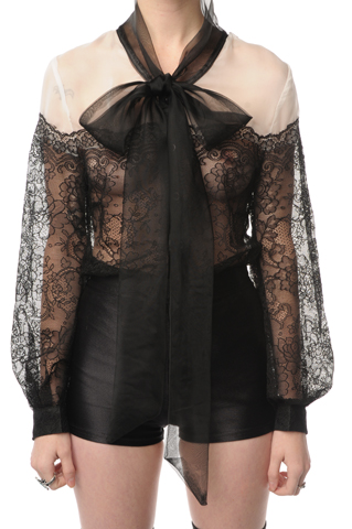 Waldorf Pussy Bow Blouse Nasty Gal website pictures