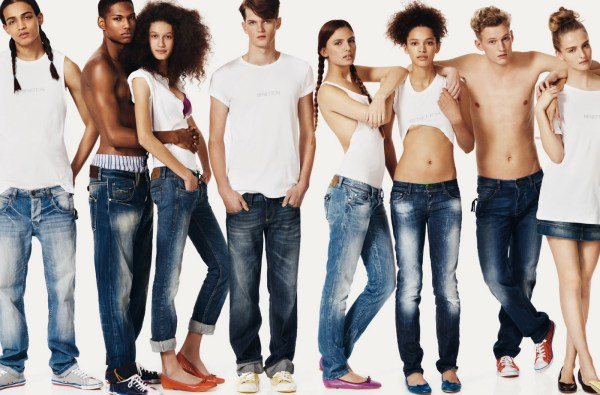 Benetton SS10 by Josh Olins ad campaign