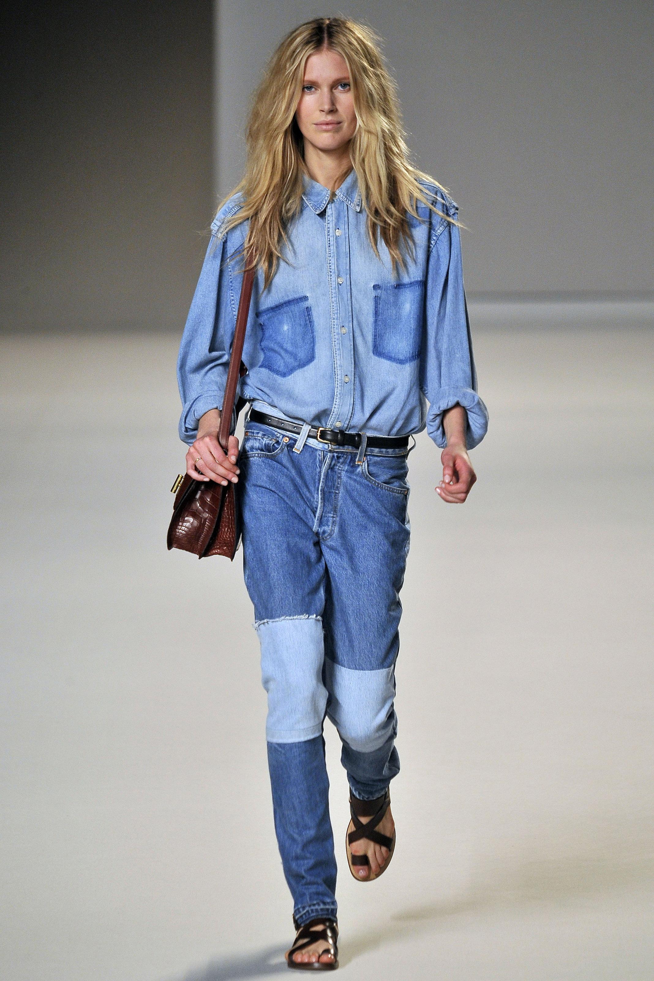 brilliant denim jeans outfit 19