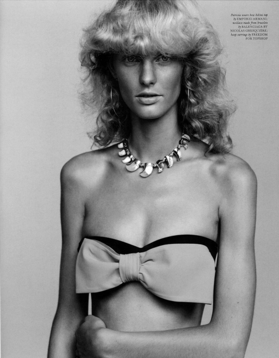 Patricia van der Vliet by Alasdair McLellan LOVE magazine 2010 katie grand pictures