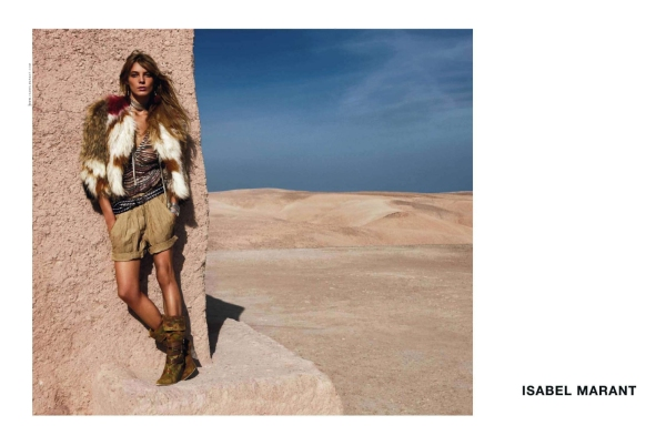 Daria Werbowy for Isabel Marant S/S 2010 campaign by Inez & Vinoodh