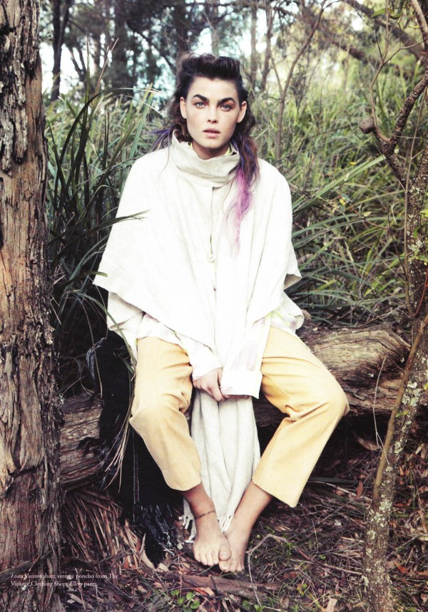 Bambi Northwood-Blyth by Beau Grealy Russh Australia March/April 2010