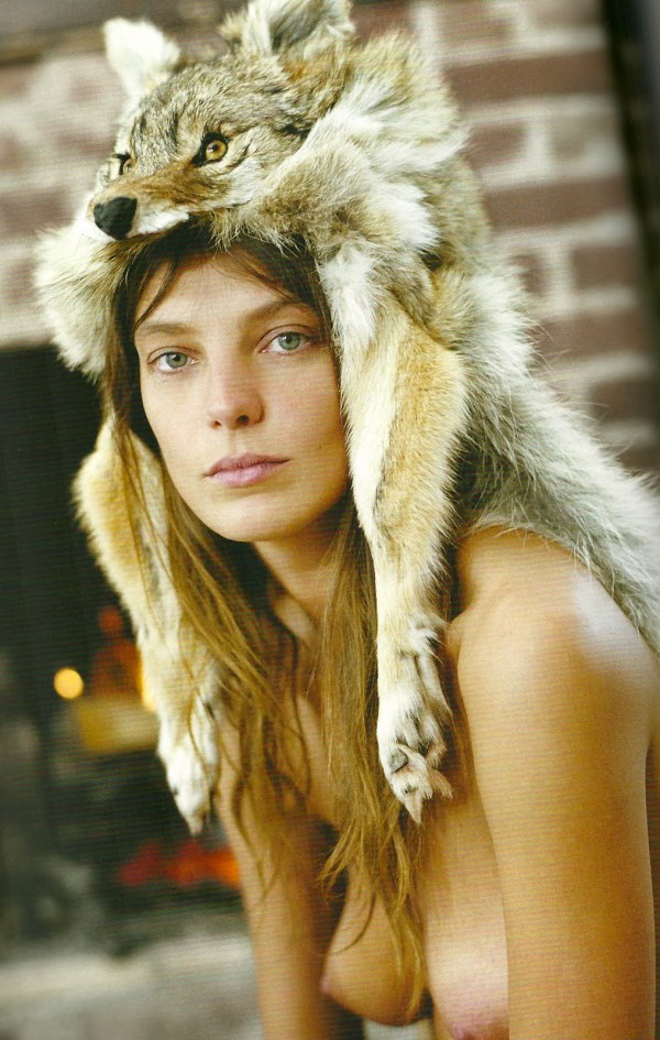 Daria Werbowy Nude by Cass Turner for Dossier Journal Spring 2010