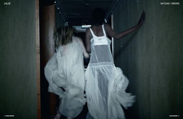 Jenny Sinkaberg & Aminata Niara by Will Davidson Dazed & Confused May 2010