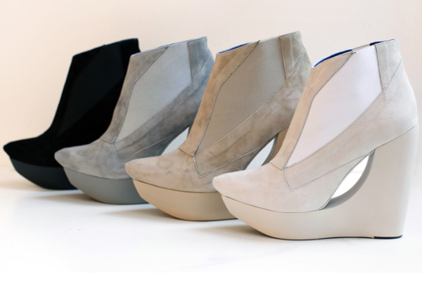Raphael Young for Frank Tell wedges fall 2010