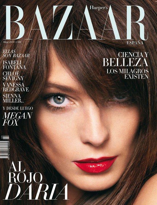 Daria Werbowy for Harper's Bazaar España May 2010