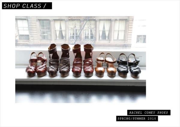Rachel Comey shoes now available at La Garconne image picture