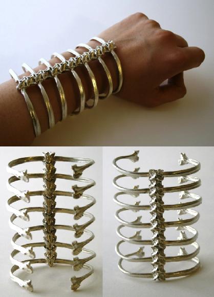 SPINE BRACELET by AYAKA_NISHI £ 1,121.85 spine cuff by ayaka nishi,