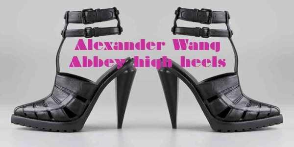 Alexander Wang Abbey HIgh heel sandals resort 2010 collection