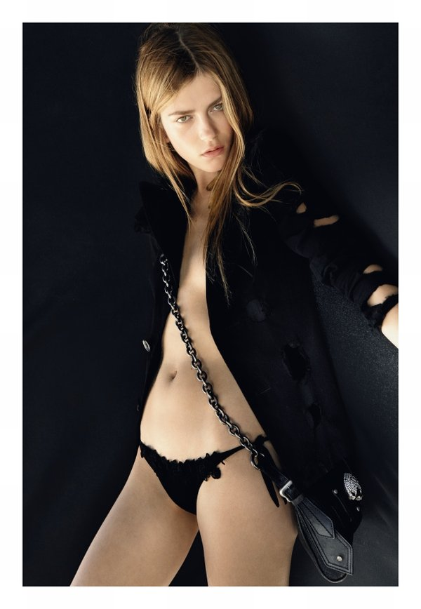 Marlena Szoka by Daniel Gabbay in Black Summer Marie Claire Italia 2010 Stylist Ivana Spernicelli