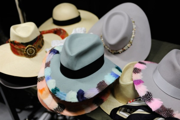Chanel Cruise 2011 collection hats accessories
