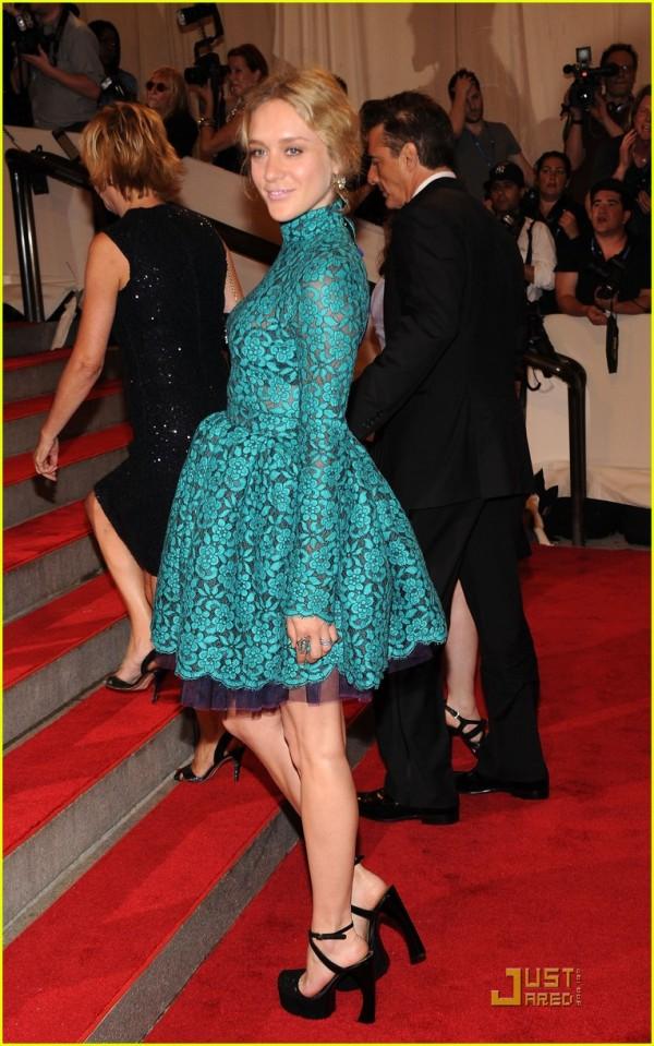 chloe sevigny actress met ball 2010 Proenza Schouler dress