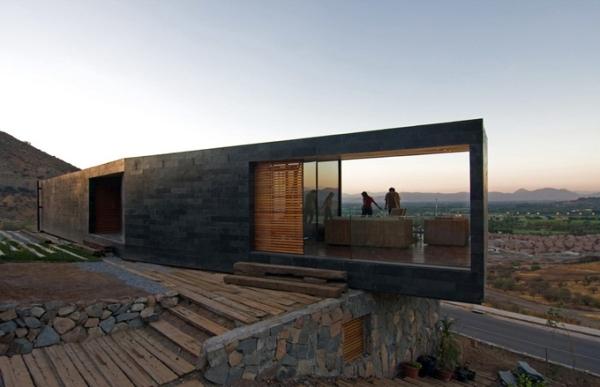 desert paradise contemporay home