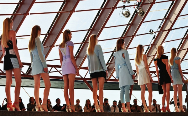 Dion Lee spring summer runway collection 2010-11