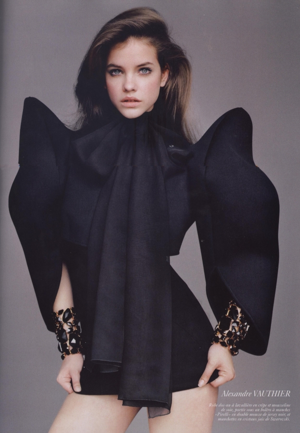Alexandre Vauthier for Vogue Paris June/July 2010 Ph. : Alasdair McLellan Models : Barbara Palvin