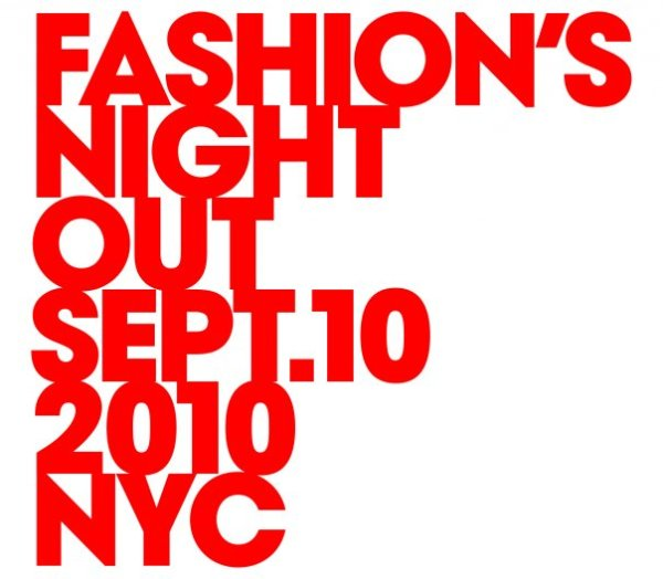 fashion's night out new york logo 10 september 2010