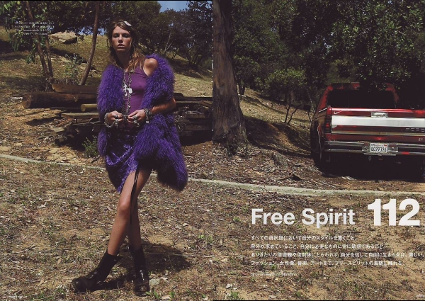 Angela Lindvall by Jean Baptiste Mondino  Numéro Tokyo September 2008 fashion editorial