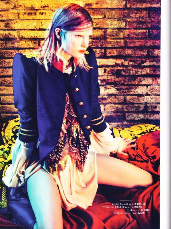 Hannah Holman by Txema Yeste Tush #2 2010