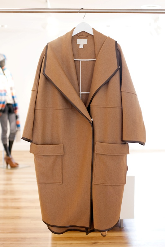 H&M Fall/Winter 2010-11 Lookbook camel coat