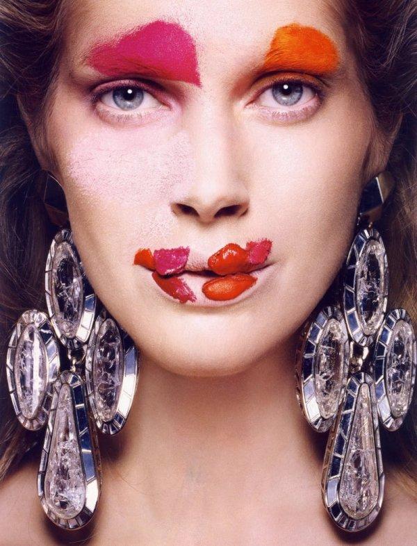 Iselin Steiro model Vogue Paris, June/July 2010 Photographer  Tyen