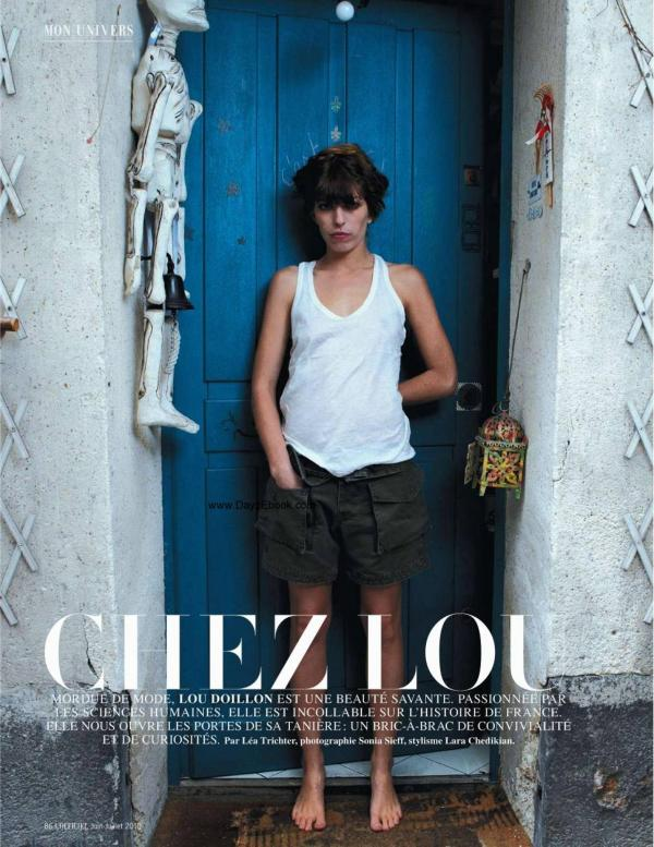 Lou Doillon L'Officiel June 2010