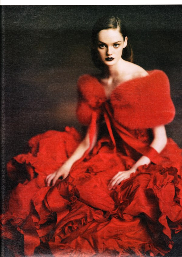 Ladies in Waiting Photographer: Paolo Roversi  W Magazine October 2004