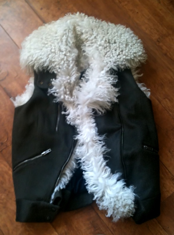 Topshop Boutique Shearling Sleeveless Gilet Winter 2010 fashion trend