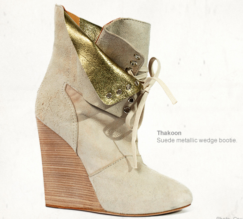 thakoon a/w f/w 2010 runway collection boots fashion trend