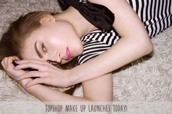 topshop make up launch poster