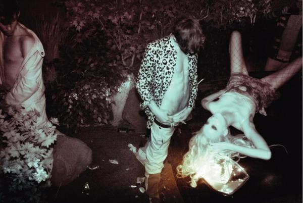 """Dogging"" Daul Kim, Anna Selezenva, Anna J, Iris Strubegger, Naty Chebanenko, Alban Blondiaux, Callum Turner, Daran Bunch, Jeremy Simpson, Rory Greer, Stephen Mabry, Tyler Riggs All photographed by Steven Meisel V #56 November/December 2008"