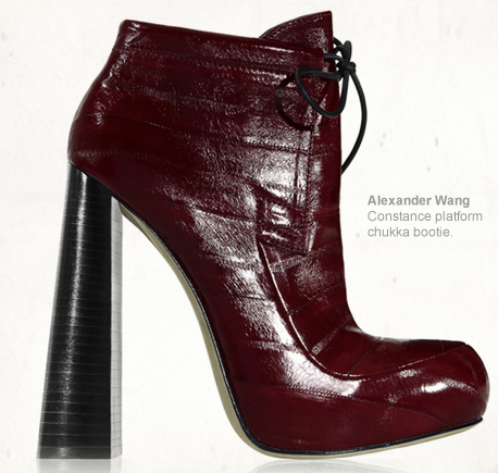 alexander wang a/w f/w 2010 runway collection boots fashion