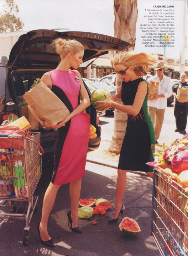 2 for 1 special-kirsty hume and amber valetta-ph.steven Meisel-vogueUS-september08-1 fashion editorial hey crazy