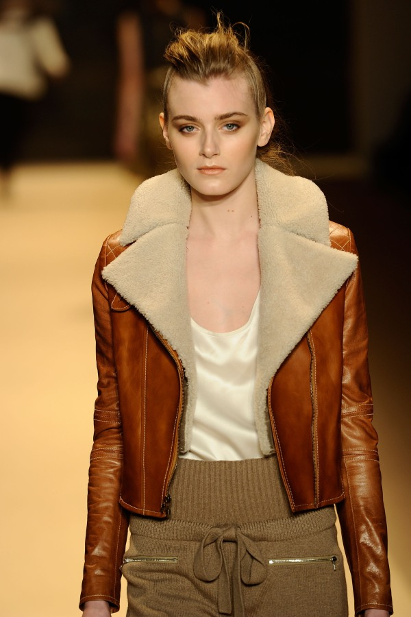 adam F/W 2011 fashion collection shearling jacket hey crazy winter trends