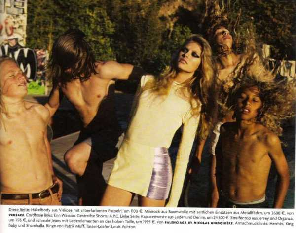 Keke Lindgard by Knoepful & Indlekofer for Vogue Germany July 2010 fashion editorial hey crazy