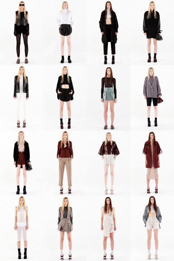 Alexander wang resort 2011 fashion collection