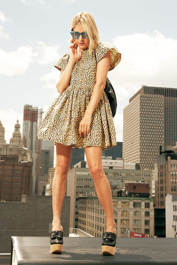 Chloë Sevigny for Opening Ceremony Resort 2011 celebrity fashion icon collection actress hey crazy